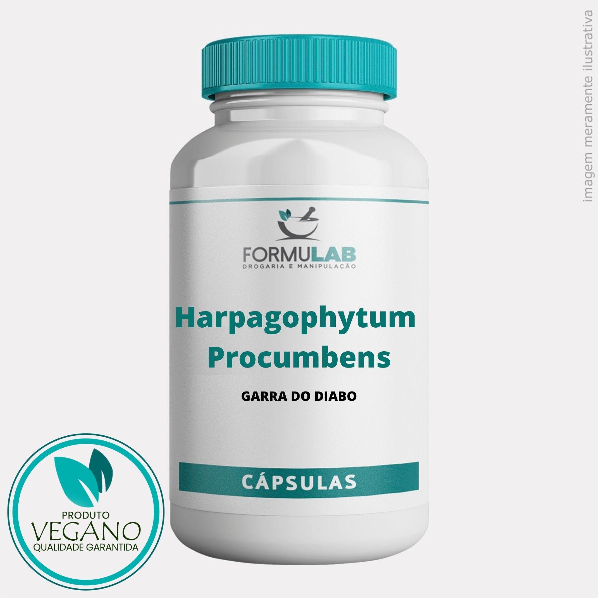 Harpagophytum Procumbens 300mg - Garra do Diabo VEGANO