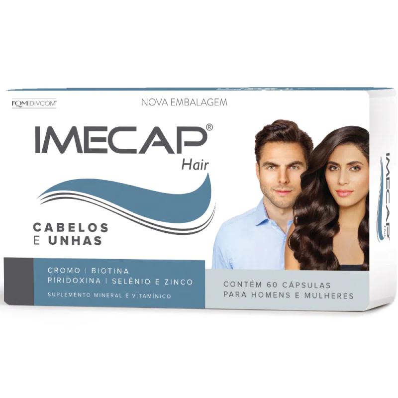 IMECAP HAIR Cabelos e Unhas (60 cápsulas)