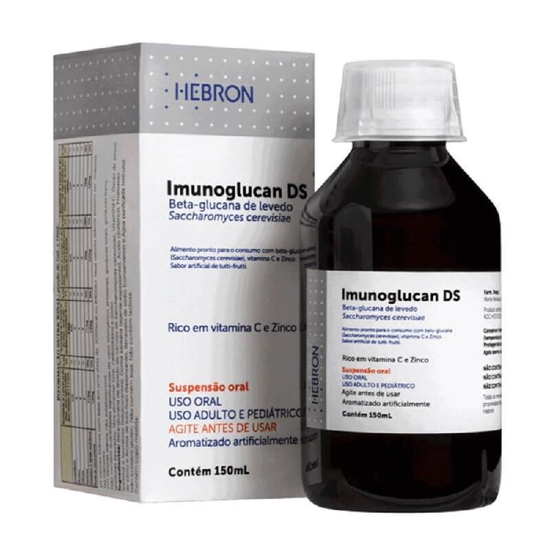 Imunoglucan DS Beta-glucana de levedo (Rico em Vitamina C e Zinco) 150ml