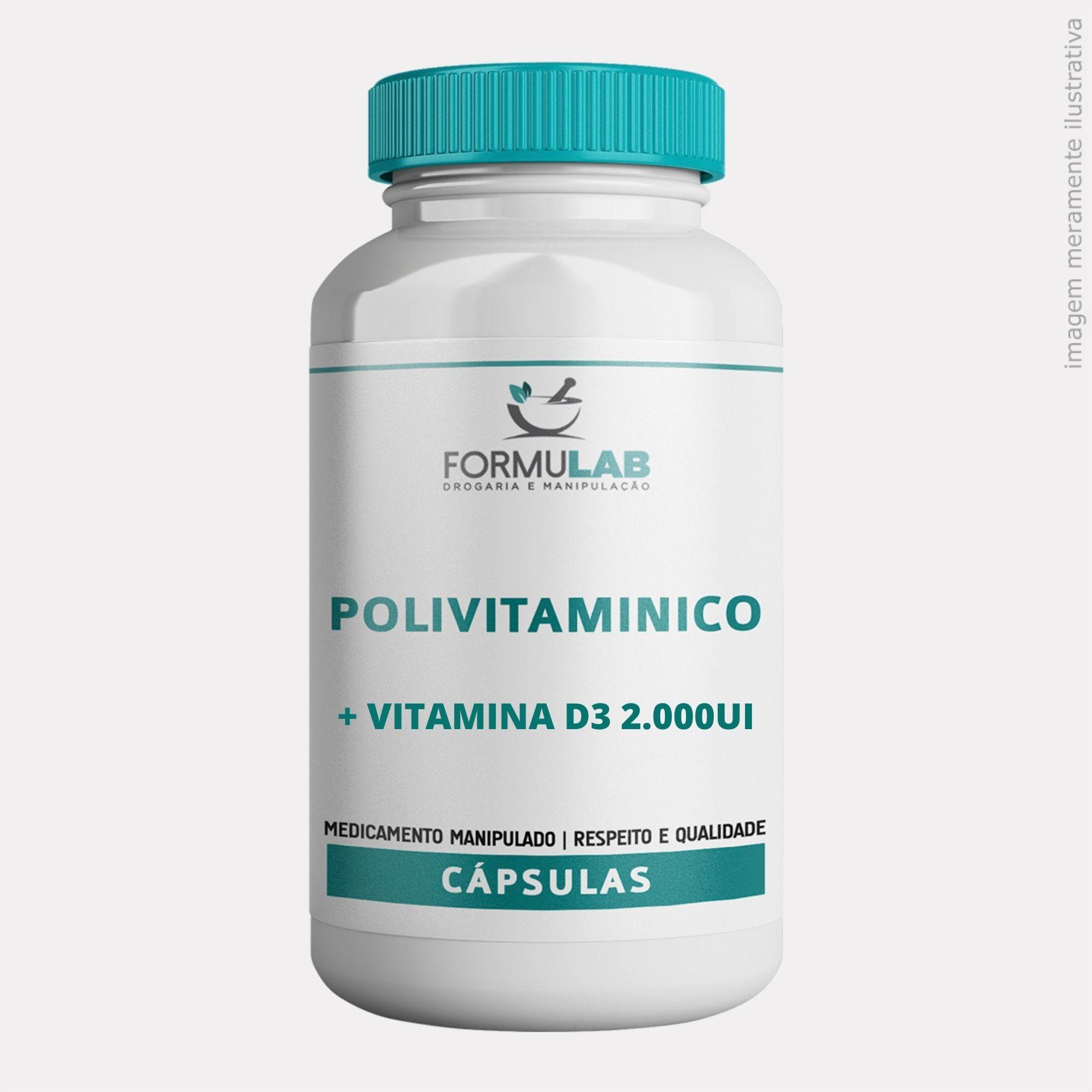 Kit Imunidade - POLIVITAMÍNICO QUELATO 30 Cápsulas + PRÓPOLIS 500mg 60 Cápsulas