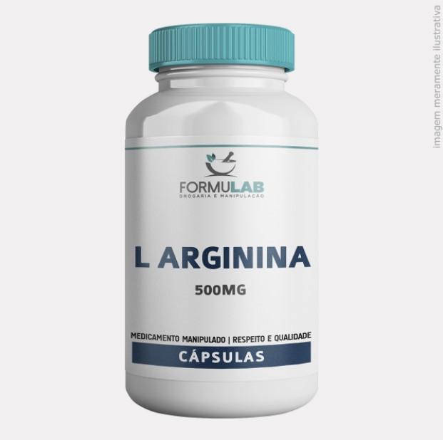 L Arginina 500mg - Arginina