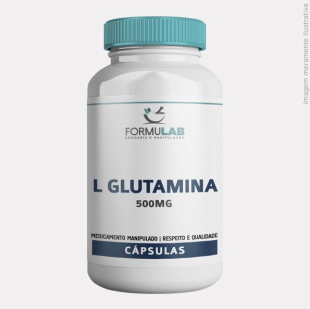 L Glutamina 500mg