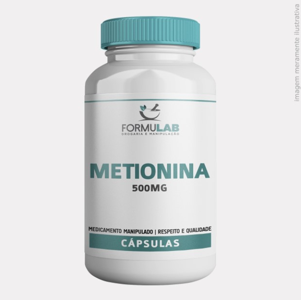 L Metionina 500mg
