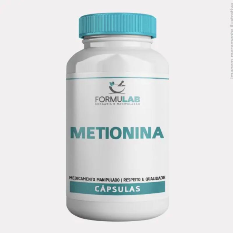 L Metionina 500mg - Metionina