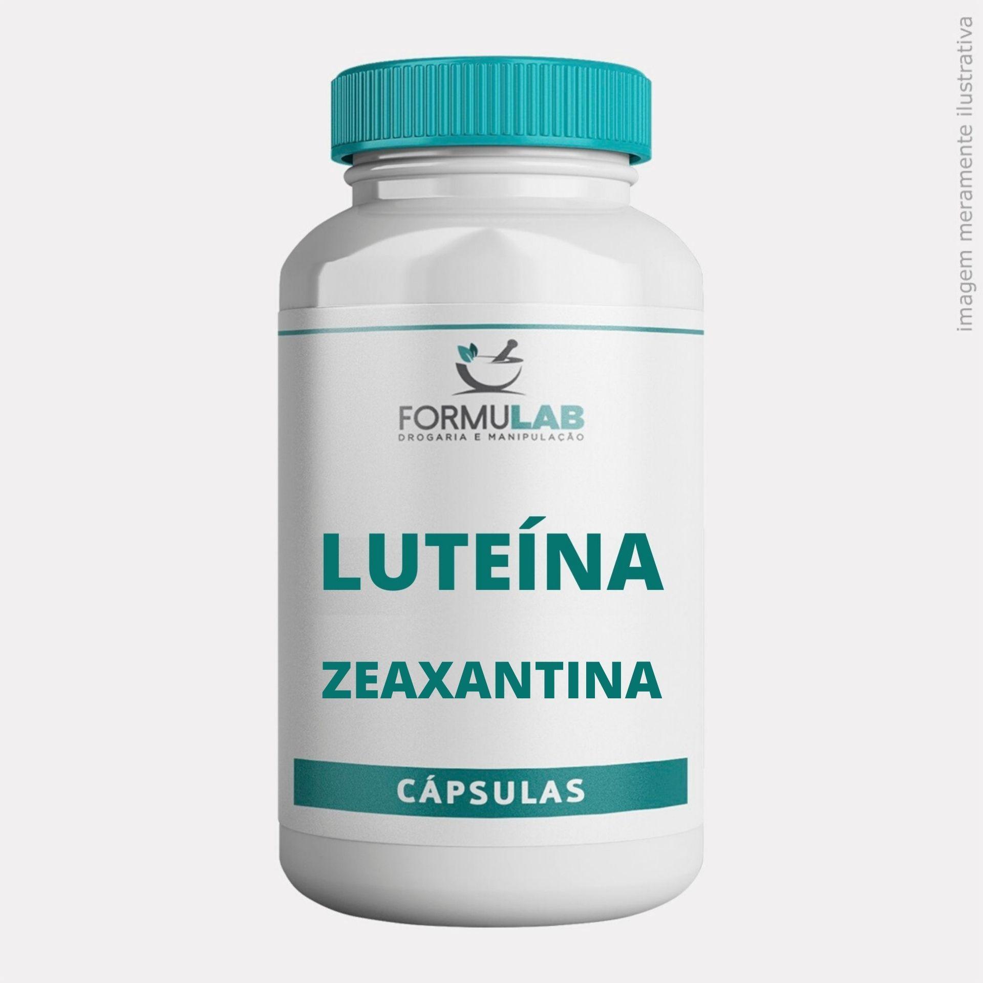 Luteína 20mg + Vitamina A 5.000ui + Zeaxantina 1,5mg