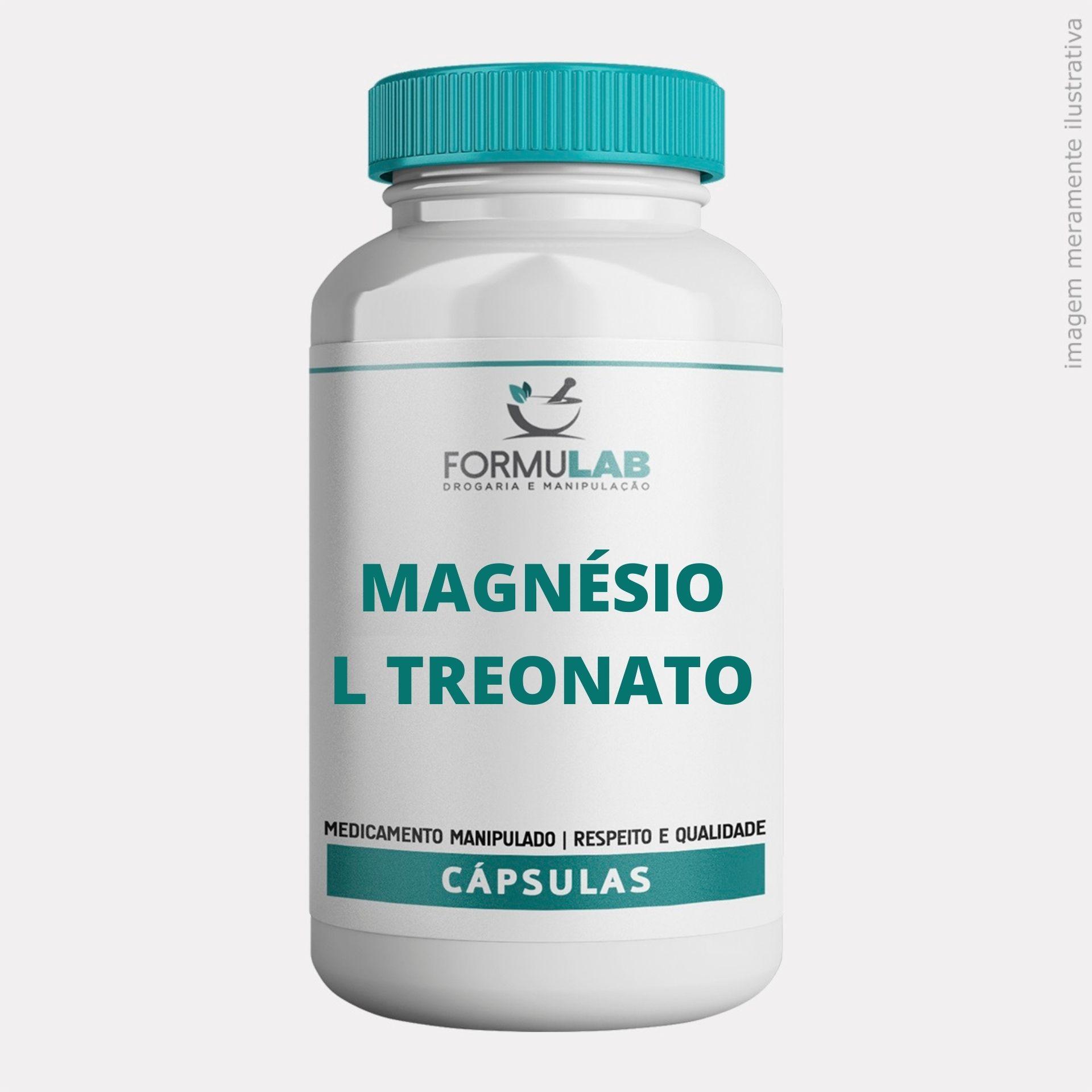Magnésio L - Treonato 300mg