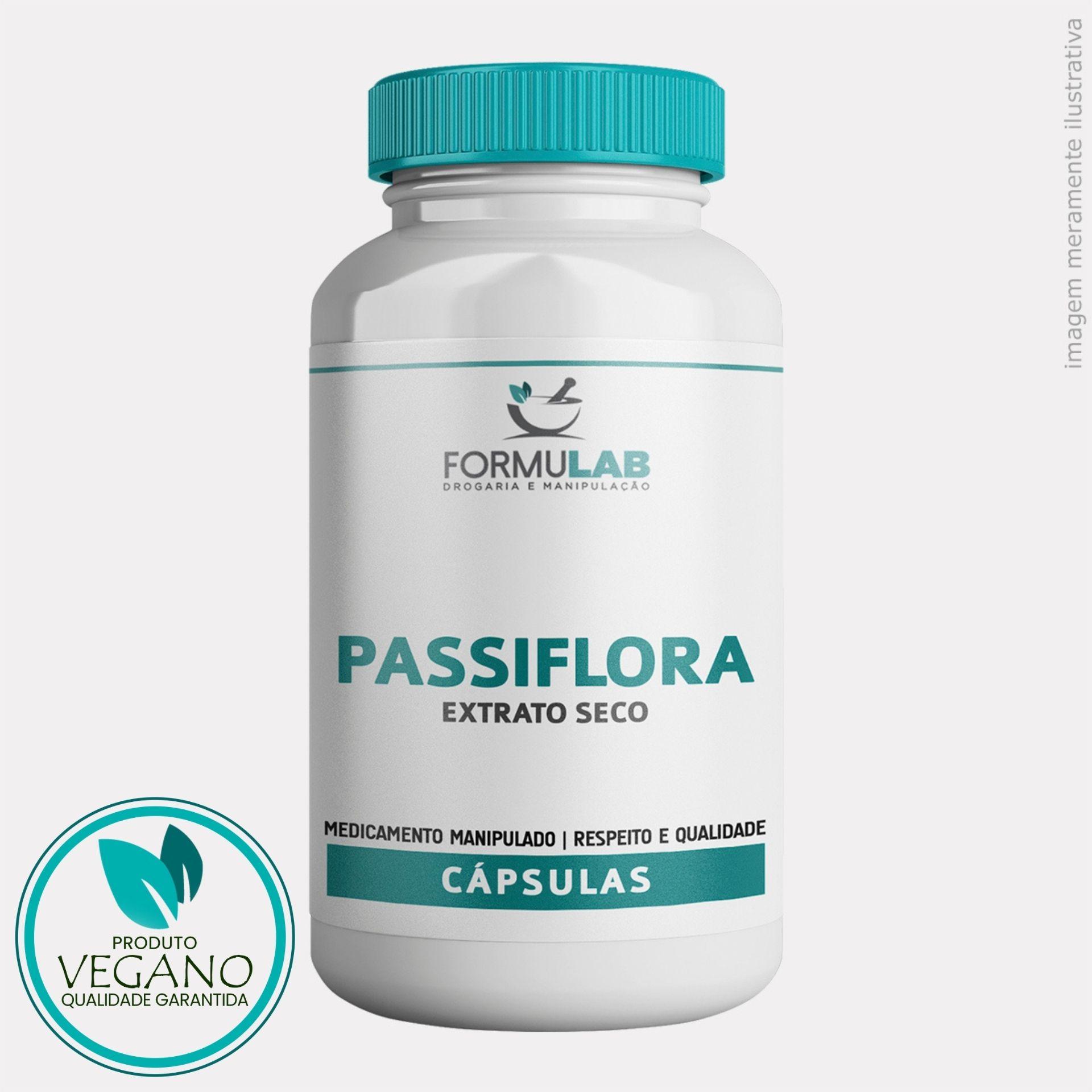 Passiflora 250mg - Maracujá VEGANO
