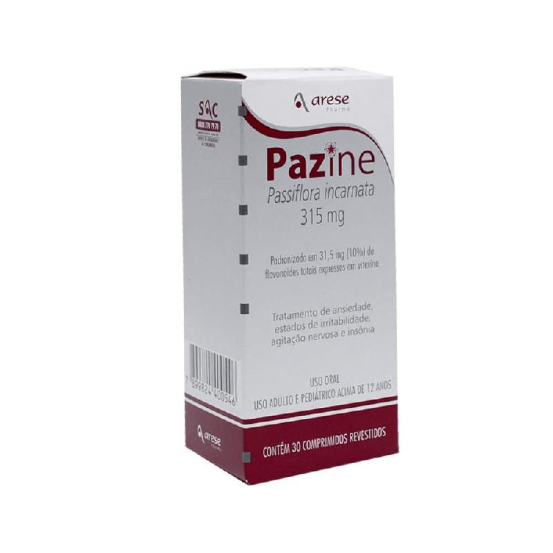 Pazine (Passiflora incarnata) 30 Compimidos