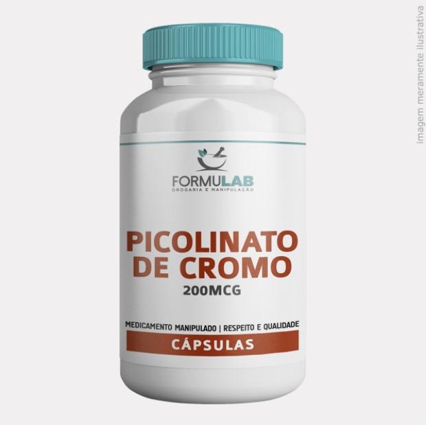 Picolinato de Cromo 200mcg