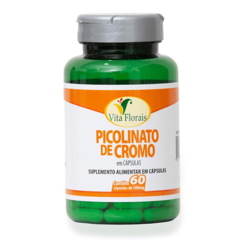 Picolinato de cromo- 60 cápsulas de 500mg