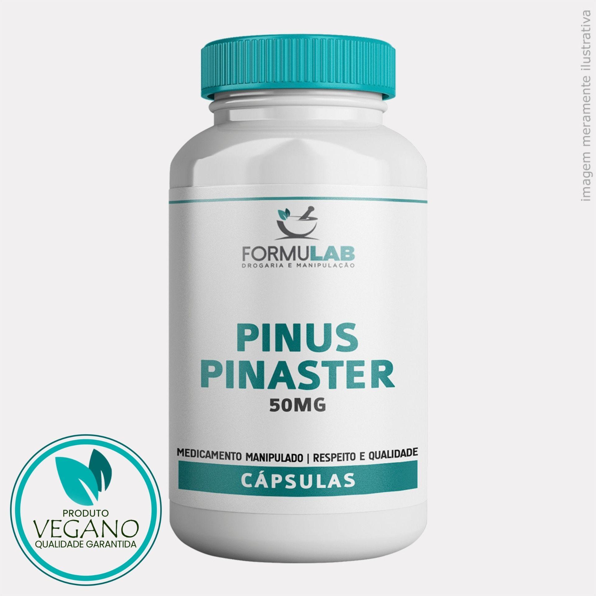 Pinus Pinaster 50mg - Picnogenol VEGANO