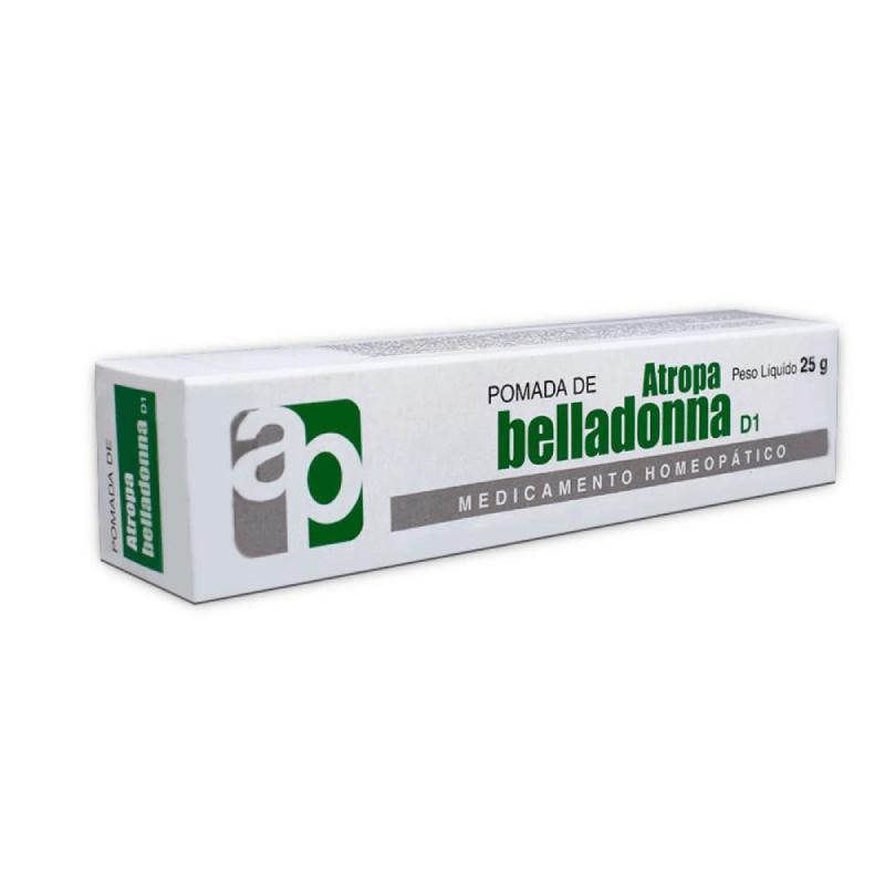 Pomada Atropa belladonna D1- 25g