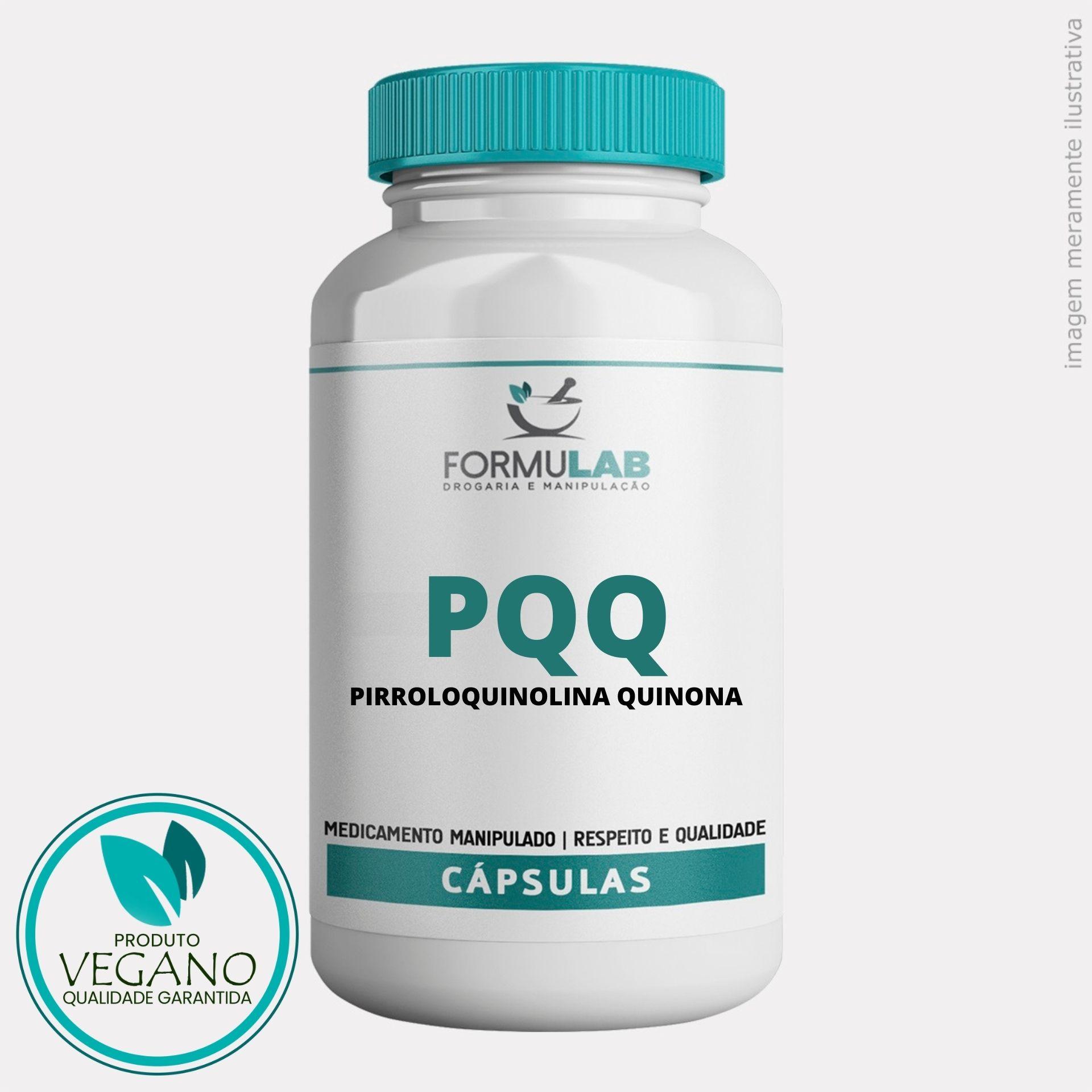PQQ - Pirroloquinolina Quinona 10MG - VEGANO