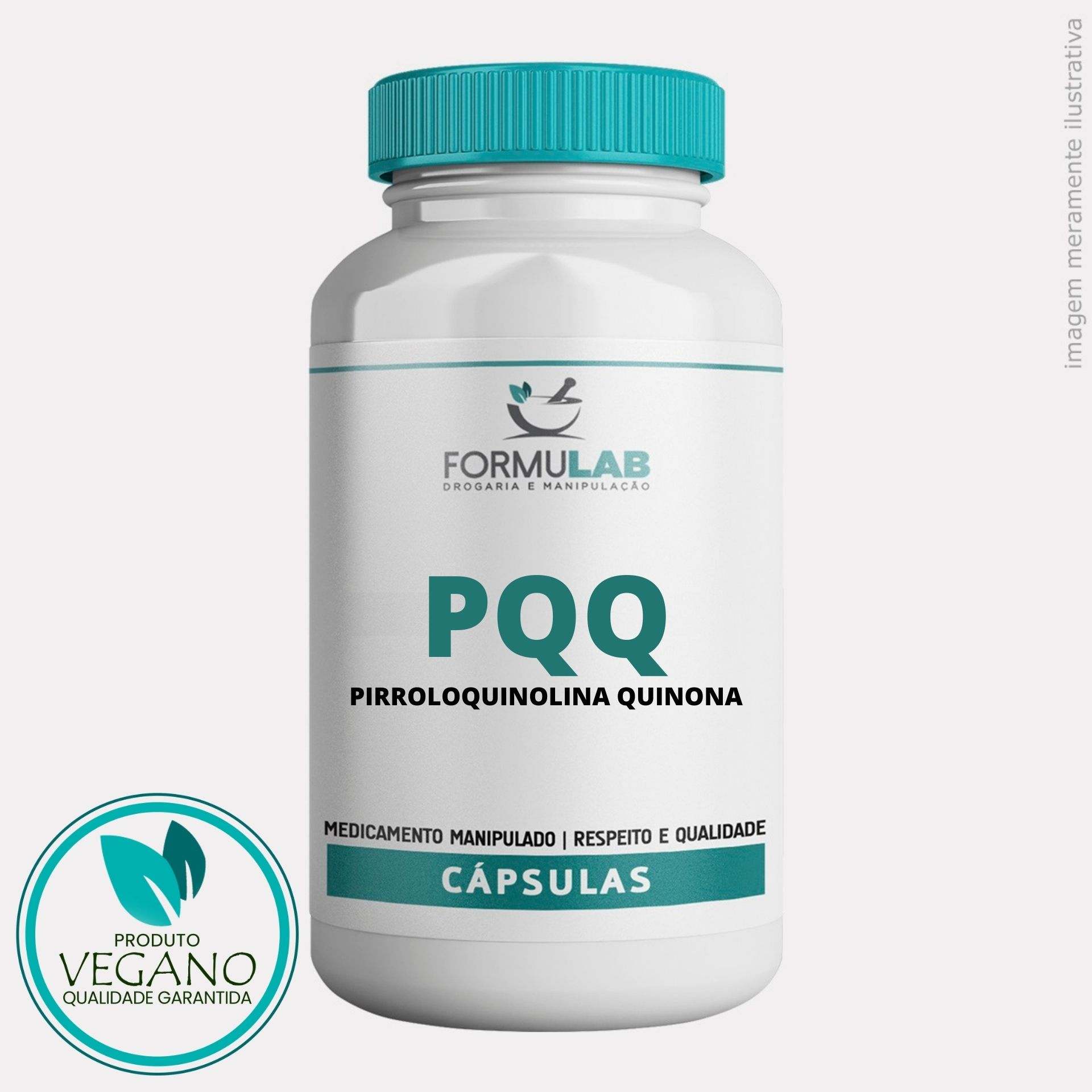 PQQ - Pirroloquinolina Quinona 20MG - VEGANO