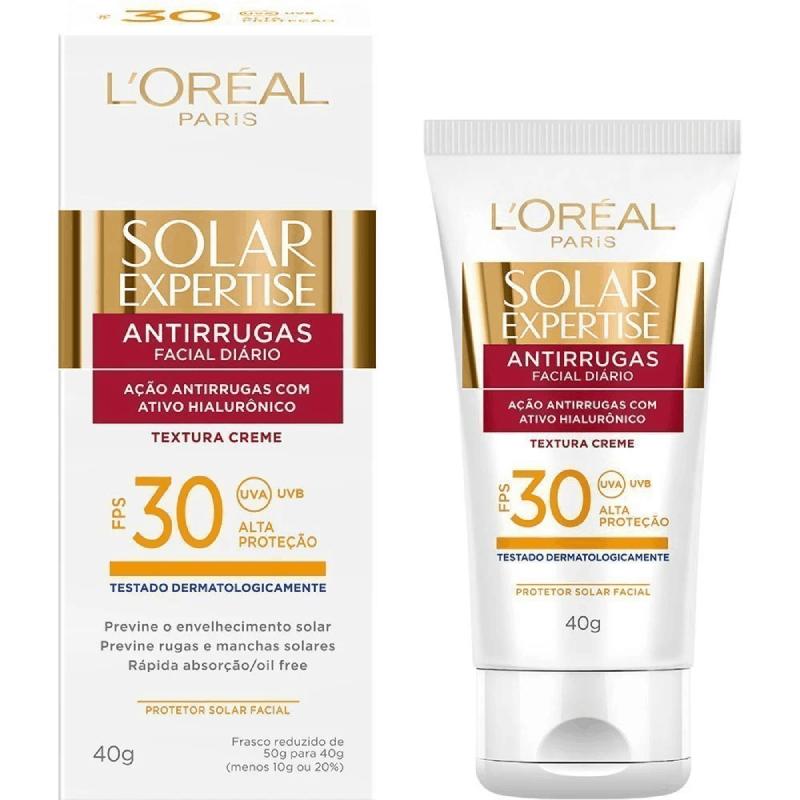 Protetor solar antirrugas 30FPS (L'Oréal Paris) 40g