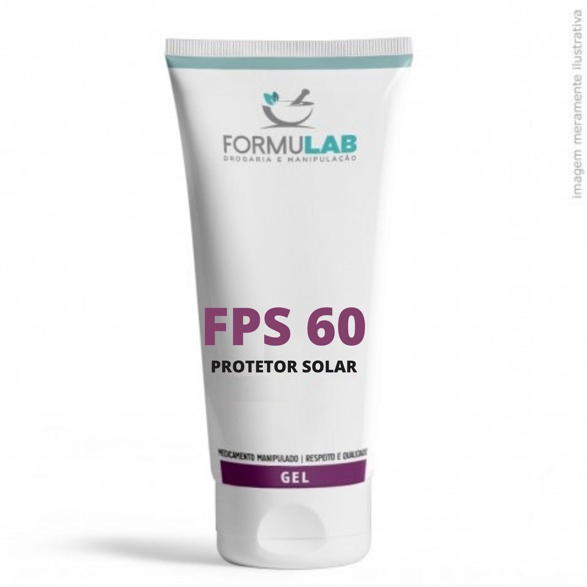 Protetor Solar FPS 60 Toque Seco - 100 Gramas