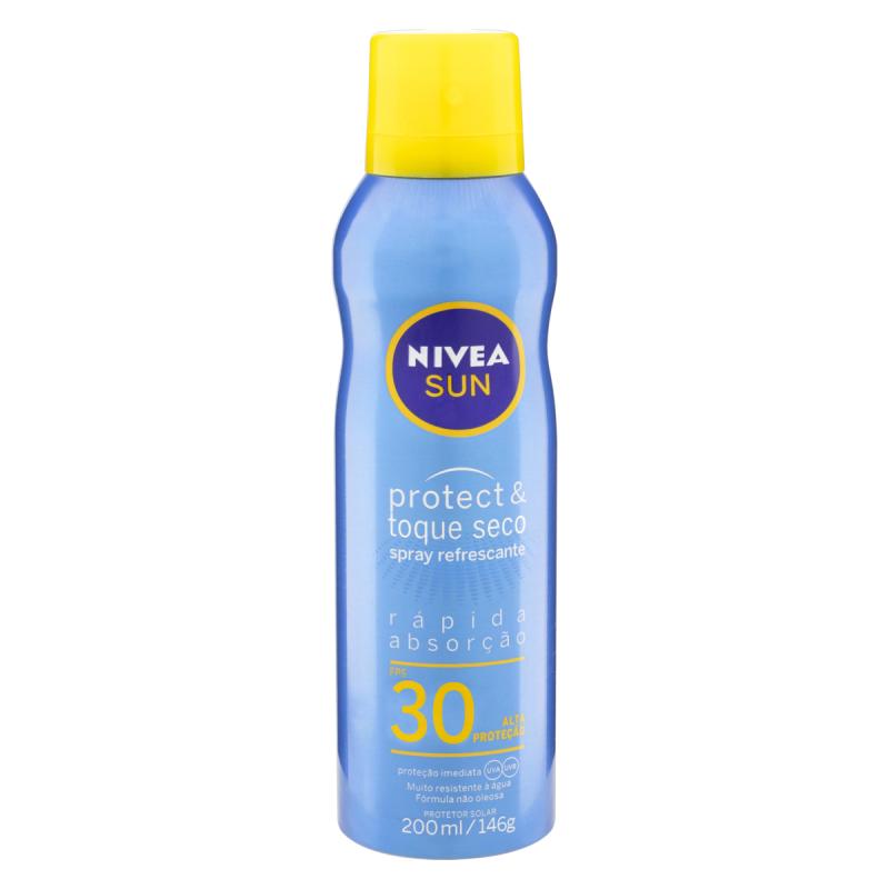 Protetor solar Nivea Sun- Protect e Toque Seco 200ml (FPS 30)