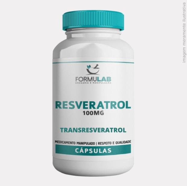Resveratrol 100mg - Transresveratrol