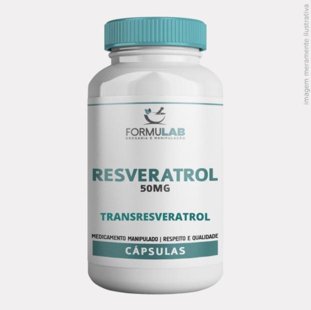 Resveratrol 50mg - Transresveratrol