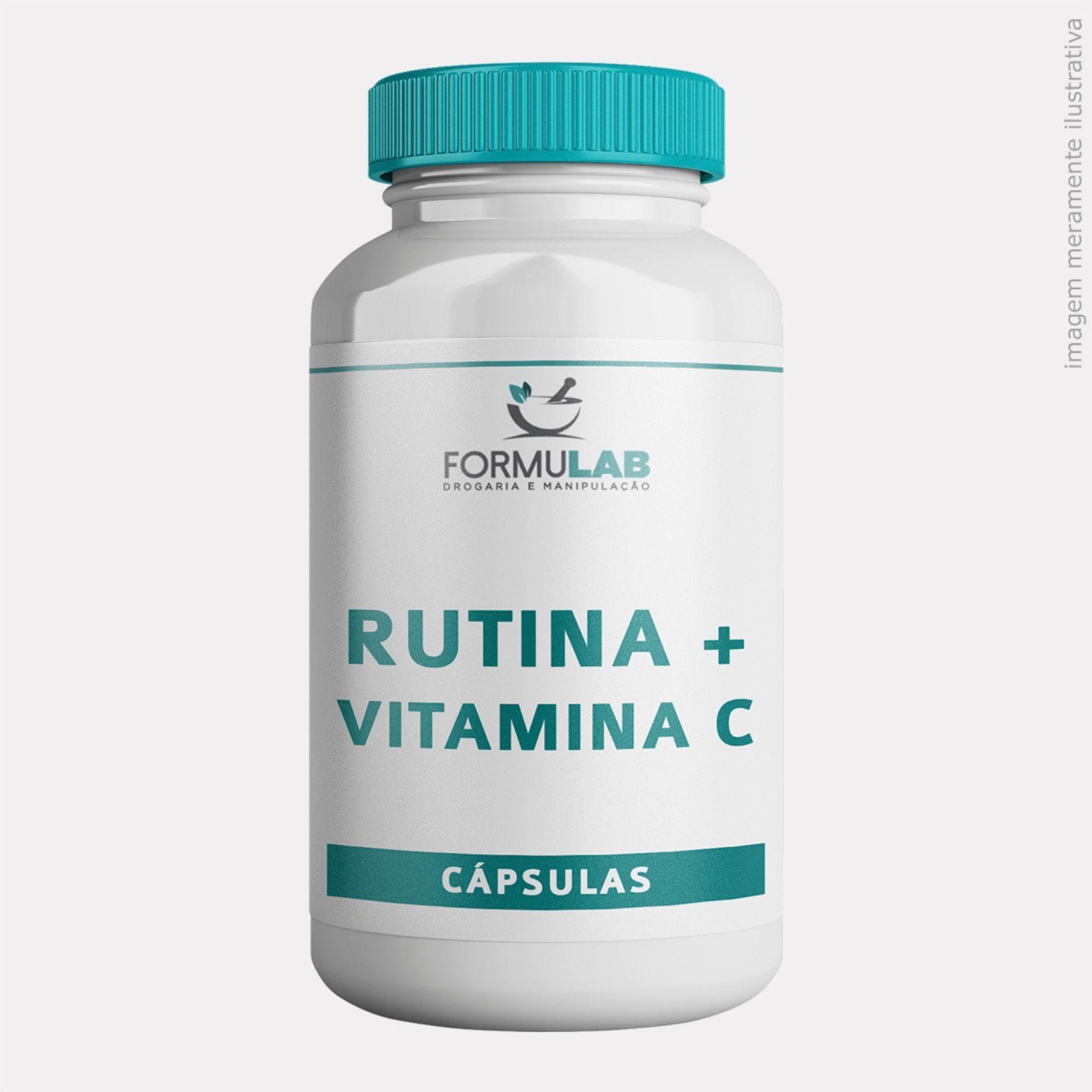 Rutina 300mg Vitamina P +  Vitamina C 200mg