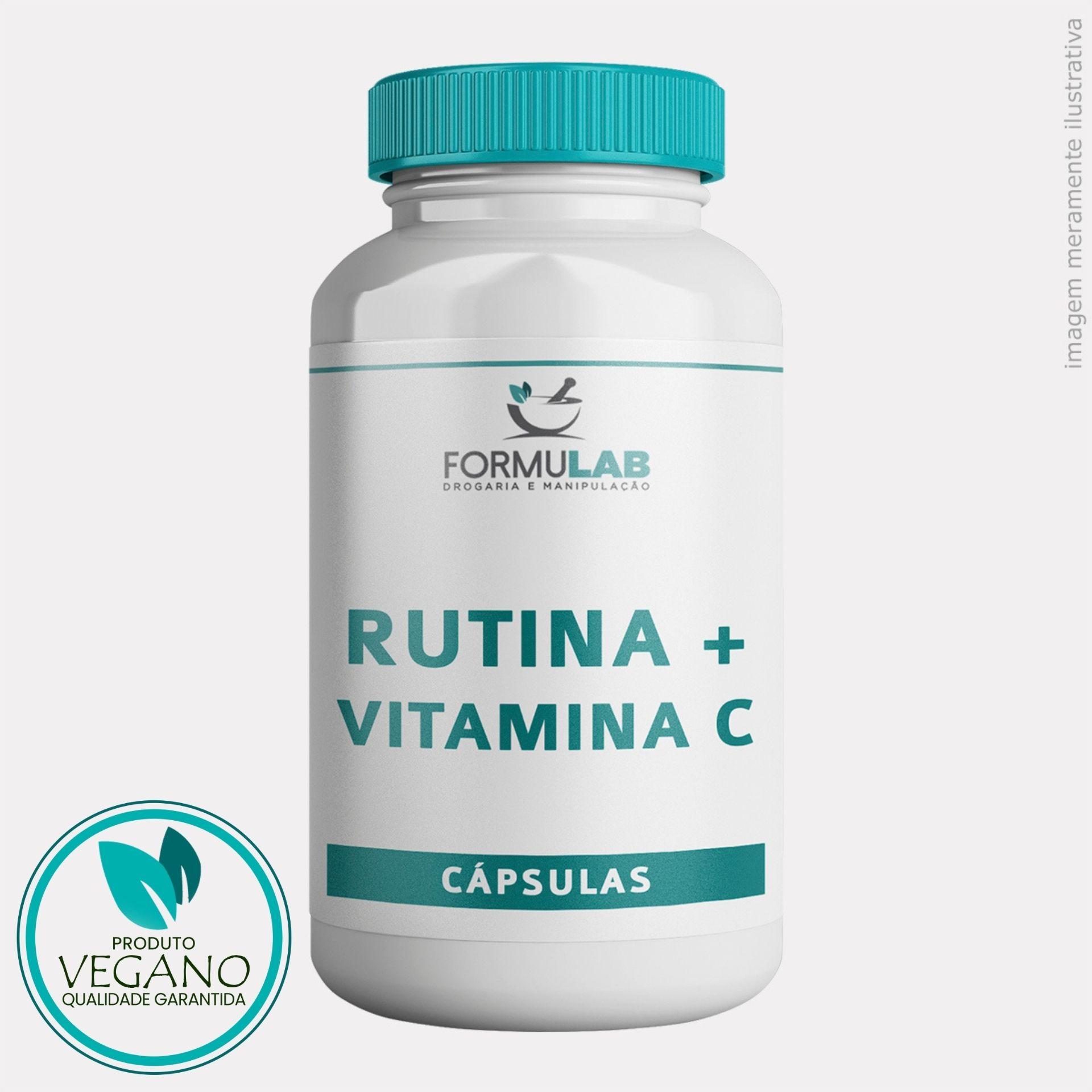 Rutina 300mg Vitamina P +  Vitamina C 200mg - VEGANO