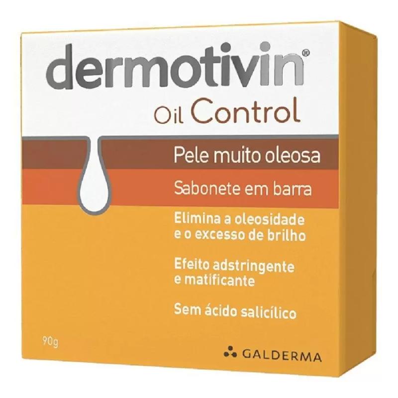 Sabonete em Barra Dermotivin (Oil Control) 90g
