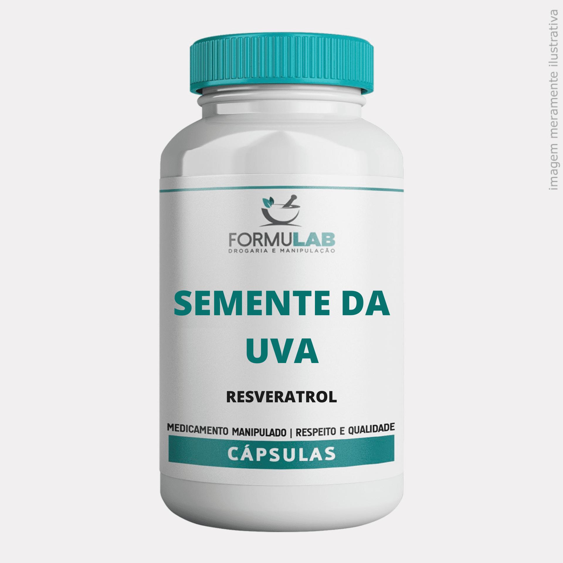 Semente da Uva 250mg - Resveratrol