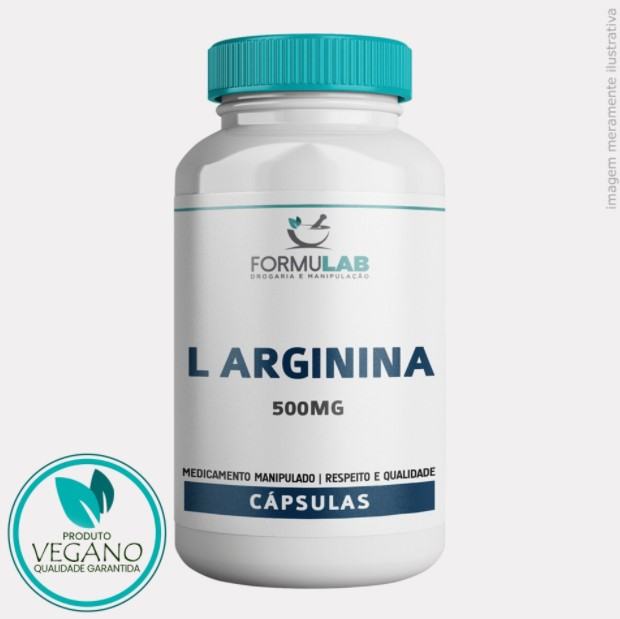 VEGANA: L Arginina 500mg - Arginina