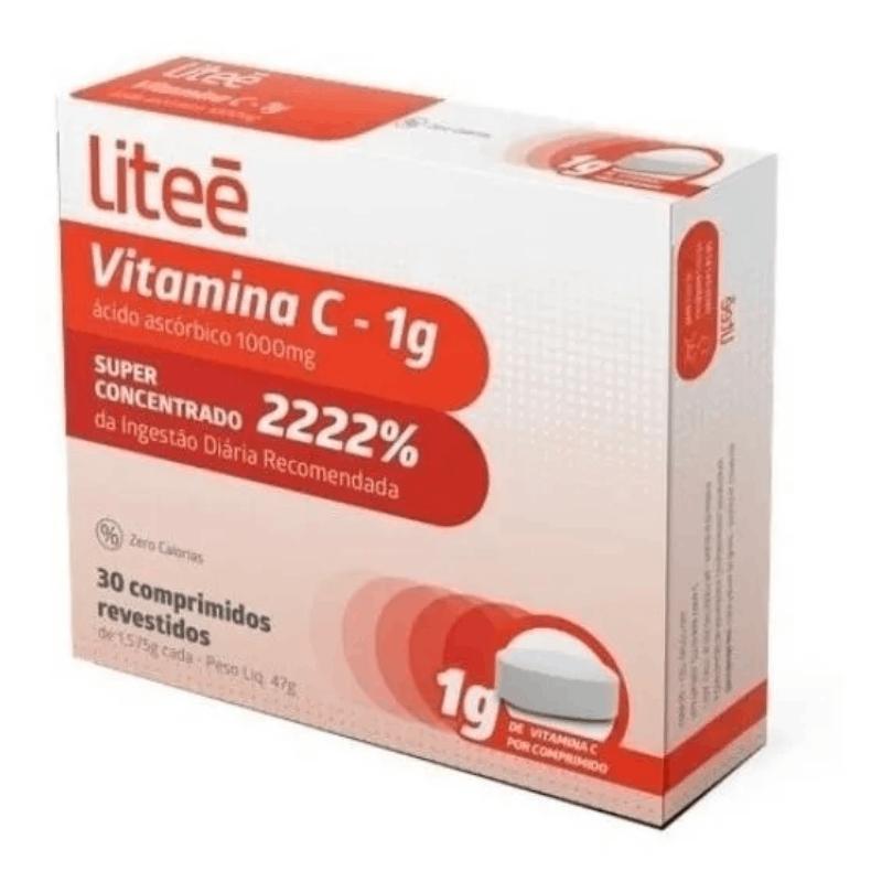 Vitamina C 1G 30 comprimidos (Litte)