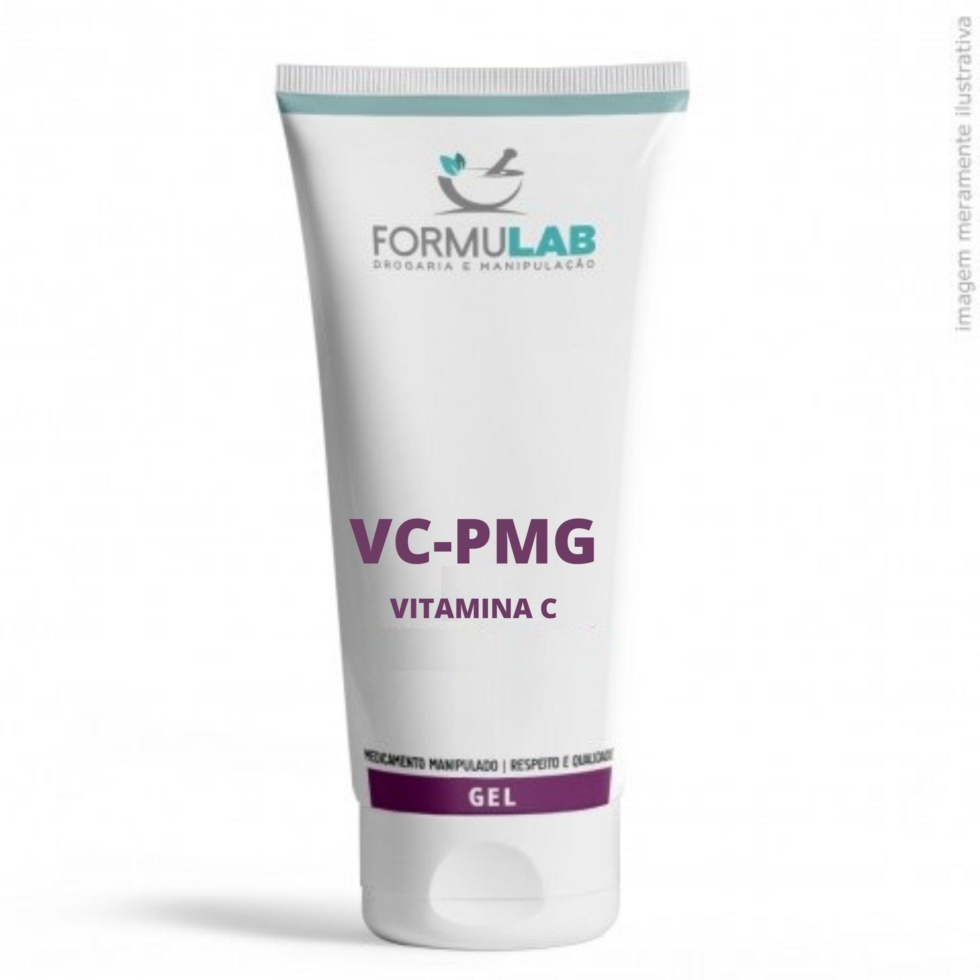 Vitamina C 3% (VC-PMG) - Gel Creme Oil Free 60 gramas