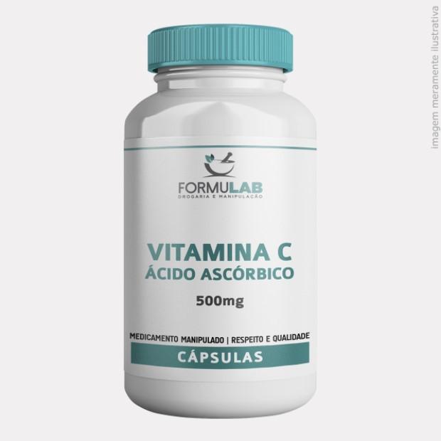 Vitamina C - Ácido Ascórbico 500mg