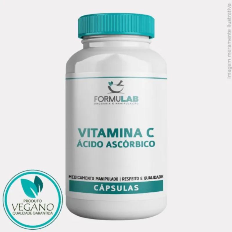 Vitamina C VEGANA - Ácido Ascórbico 500mg