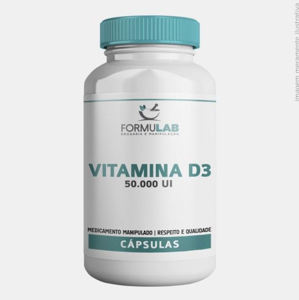 Vitamina D3 50.000 UI Colecalciferol
