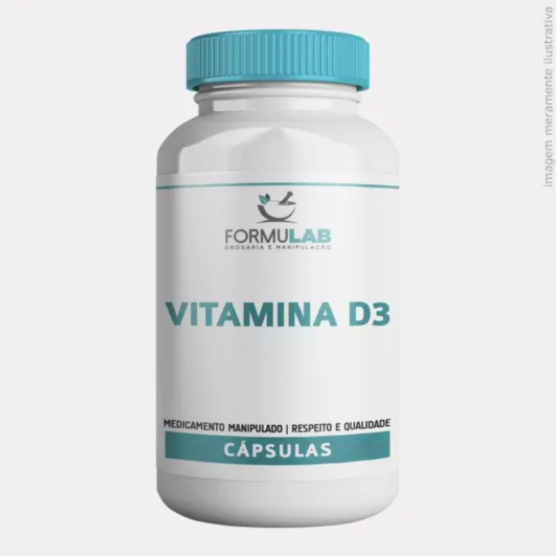 Vitamina D3 5.000 UI - Colecalciferol 5000ui