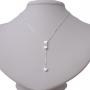 Colar Gravatinha De Coração - Prata 925