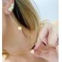 Look 1 colar, 1 brinco e 1 brinco ear cuff (10% OFF)