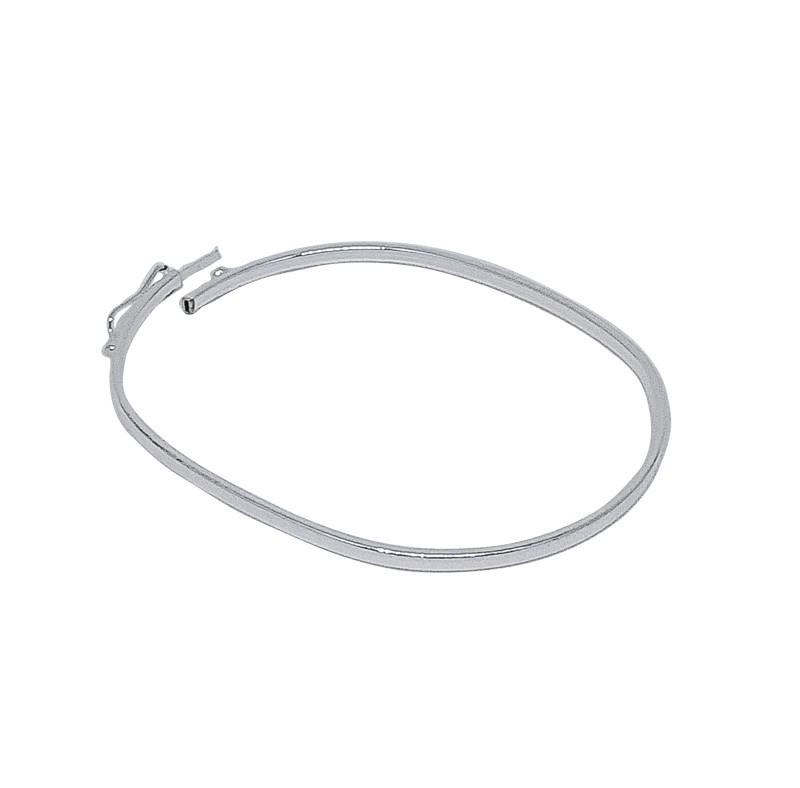 Bracelete Duro Lisa - Prata 925