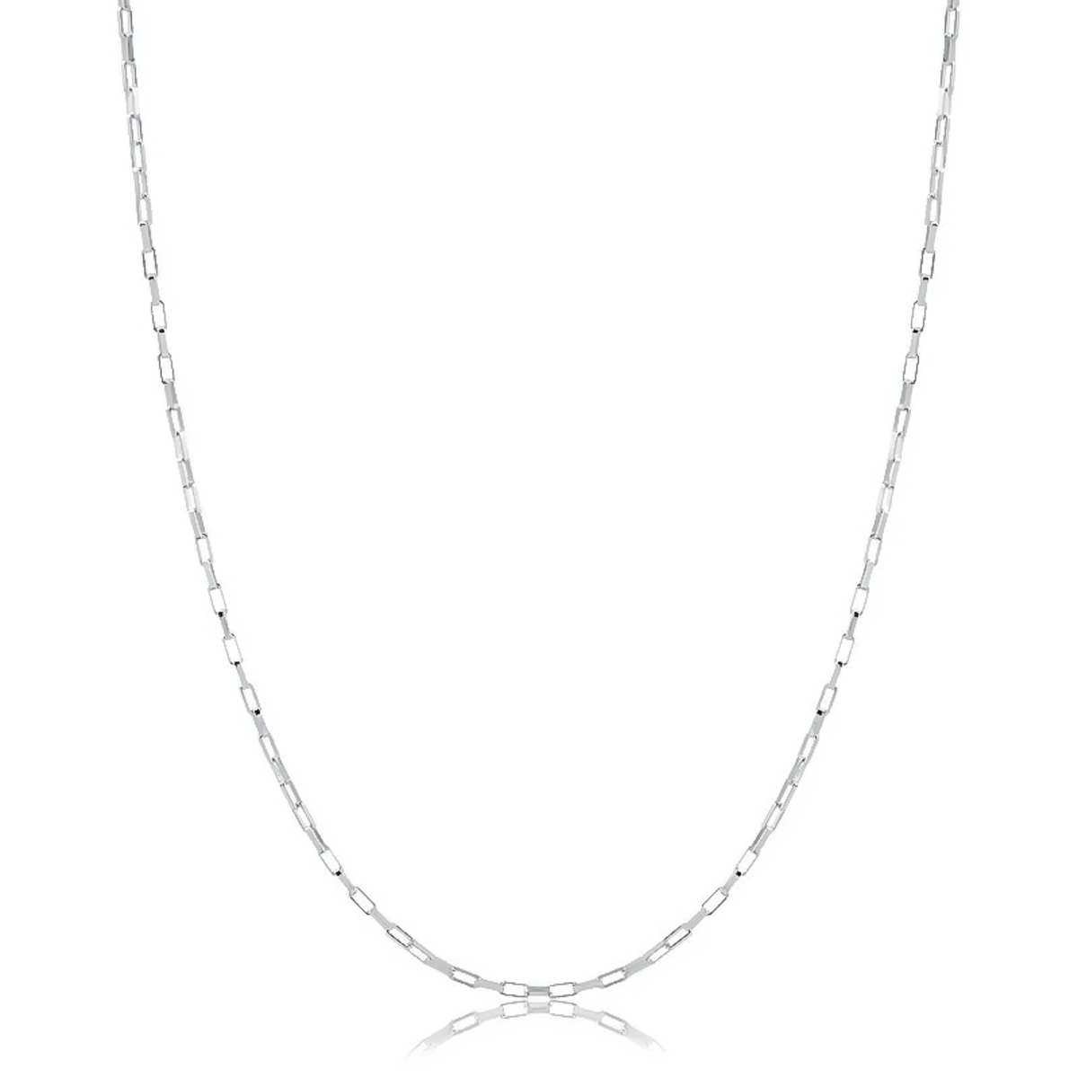 Corrente Masculina Cartier 60 cm - Prata 925