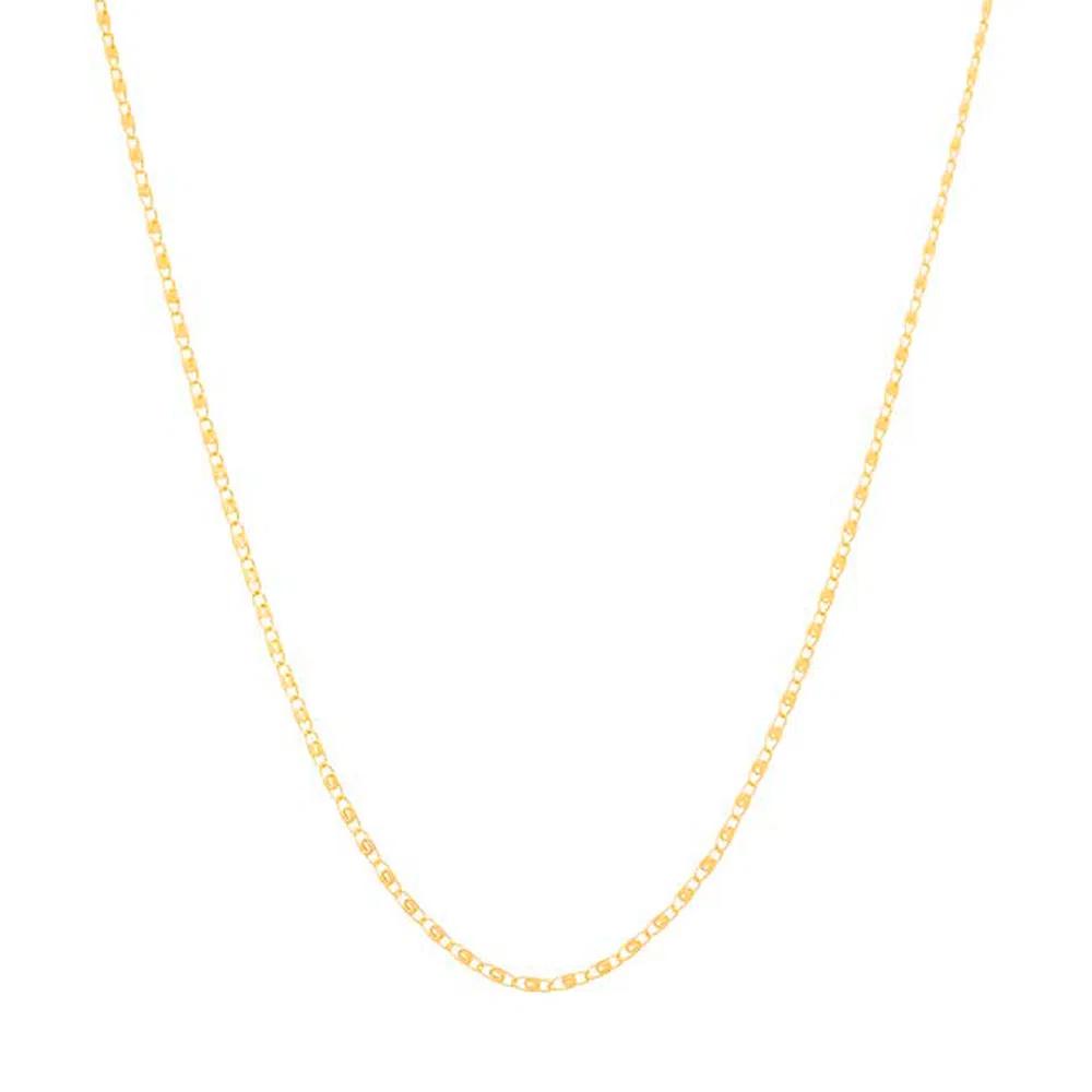 Gargantilha Fio Diamantado Folheada Em Ouro - Rommanel