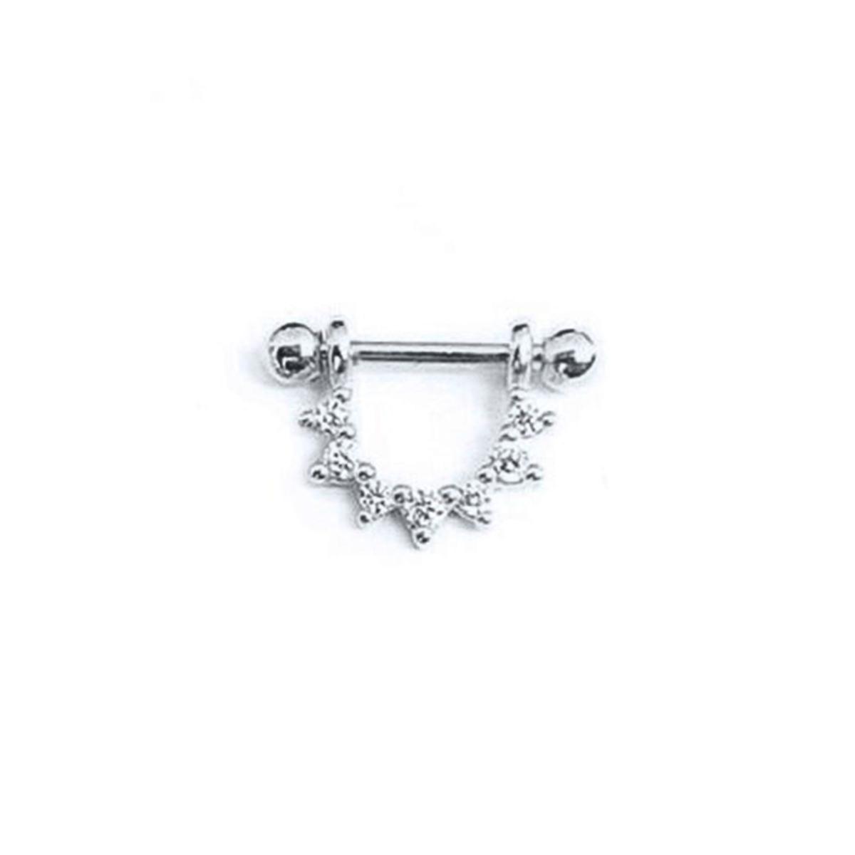 Piercing Trançado Para Helix - Prata 925