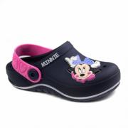 Babuche Grandene Azul/Rosa Feminino 22489 Minnie Glam