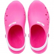 Babuche World Colors Pink/Branco Feminino 130.0021507