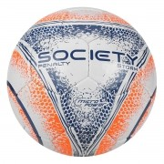 Bola Society Penalty Branco / Laranja Storm