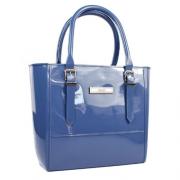 Bolsas Petite Jolie Azul Jeans Feminino PJ10012