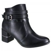 Bota Comfort Flex Preto Feminino 20-76302