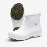 BOTA  SOFT WORKS BRANCO UNISSEX BB85