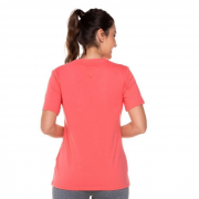 Camiseta Fila Coral Feminino Basic Letter
