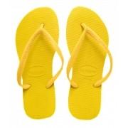 Chinelo Havaianas Amarelo Feminino Slim