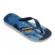 Chinelo Havaianas Azul Masculino Top Spongebob