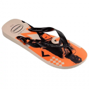 Chinelo Havaianas Bege/Palha Masculino Top Athletic